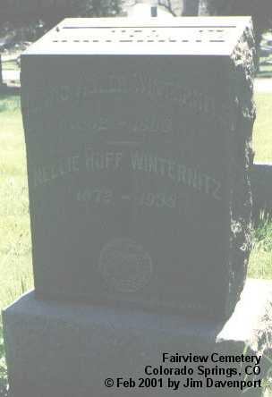 WINTERNITZ, ISAAC ADLER - El Paso County, Colorado | ISAAC ADLER WINTERNITZ - Colorado Gravestone Photos