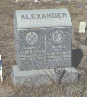 ALEXANDER, MARTHA A. - Fremont County, Colorado | MARTHA A. ALEXANDER - Colorado Gravestone Photos