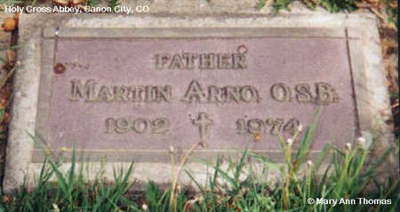 ARNO, MARTIN - Fremont County, Colorado | MARTIN ARNO - Colorado Gravestone Photos