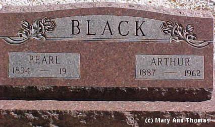 BLACK, ARTHUR - Fremont County, Colorado | ARTHUR BLACK - Colorado Gravestone Photos