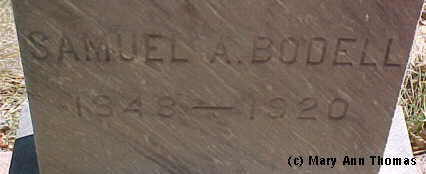 BODELL, SAMUEL A. - Fremont County, Colorado | SAMUEL A. BODELL - Colorado Gravestone Photos