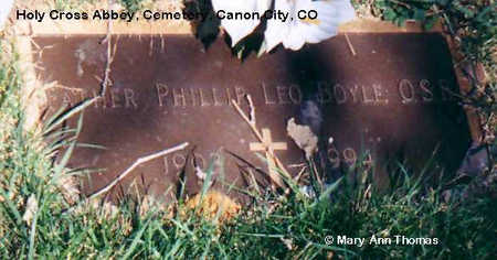 BOYLE, PHILLIP LEO - Fremont County, Colorado | PHILLIP LEO BOYLE - Colorado Gravestone Photos