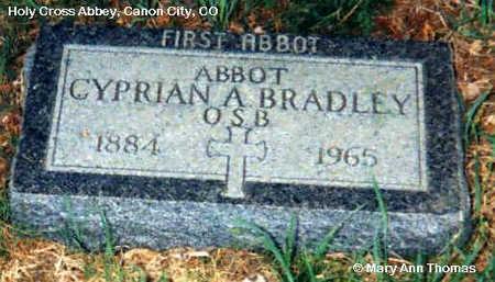 BRADLEY, CYPRIAN A. - Fremont County, Colorado   CYPRIAN A. BRADLEY - Colorado Gravestone Photos