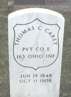 CAREY, THOMAS C. - Fremont County, Colorado | THOMAS C. CAREY - Colorado Gravestone Photos