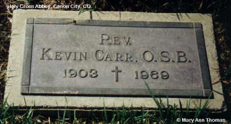 CARR, KEVIN - Fremont County, Colorado | KEVIN CARR - Colorado Gravestone Photos