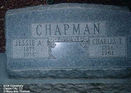 CHAPMAN, JESSIE A. - Fremont County, Colorado | JESSIE A. CHAPMAN - Colorado Gravestone Photos