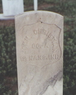 CHRISTIAN, JOHN - Fremont County, Colorado | JOHN CHRISTIAN - Colorado Gravestone Photos