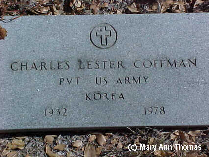 COFFMAN, CHARLES LESTER - Fremont County, Colorado | CHARLES LESTER COFFMAN - Colorado Gravestone Photos