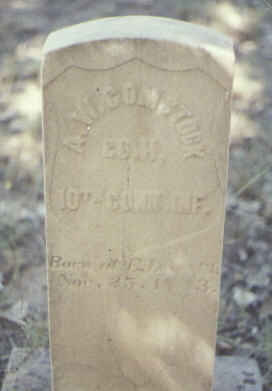 COMSTOCK, A. W. - Fremont County, Colorado | A. W. COMSTOCK - Colorado Gravestone Photos