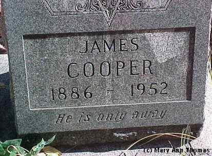 COOPER, JAMES - Fremont County, Colorado   JAMES COOPER - Colorado Gravestone Photos