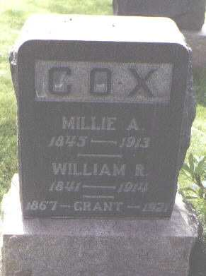 COX, WILLIAM R. - Fremont County, Colorado | WILLIAM R. COX - Colorado Gravestone Photos