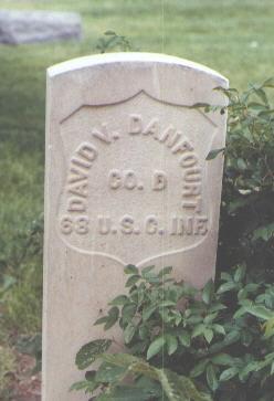 DANFOURT, DAVID V. - Fremont County, Colorado | DAVID V. DANFOURT - Colorado Gravestone Photos