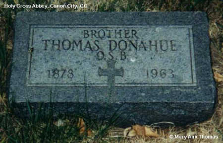 DONAHUE, THOMAS - Fremont County, Colorado | THOMAS DONAHUE - Colorado Gravestone Photos