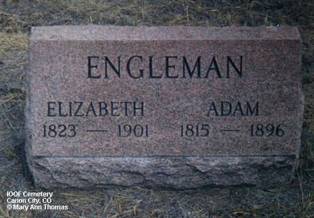 ENGLEMAN, ADAM - Fremont County, Colorado | ADAM ENGLEMAN - Colorado Gravestone Photos