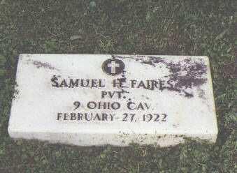 FAIRES, SAMUEL H. - Fremont County, Colorado | SAMUEL H. FAIRES - Colorado Gravestone Photos