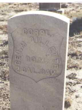 GILLETTE, GEO. M. - Fremont County, Colorado | GEO. M. GILLETTE - Colorado Gravestone Photos