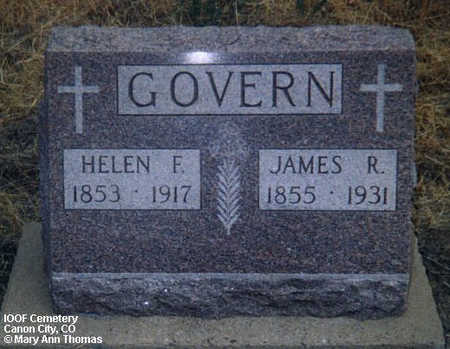 GOVERN, JAMES R. - Fremont County, Colorado | JAMES R. GOVERN - Colorado Gravestone Photos