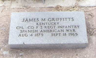 GRIFFITTS, JAMES M. - Fremont County, Colorado | JAMES M. GRIFFITTS - Colorado Gravestone Photos