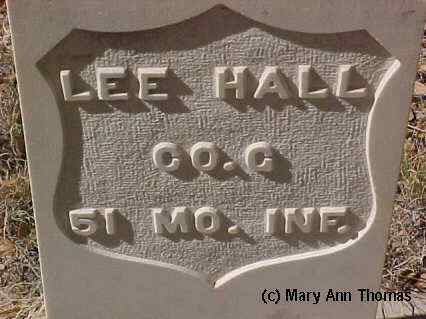HALL, LEE - Fremont County, Colorado | LEE HALL - Colorado Gravestone Photos