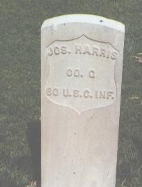 HARRIS, JOS. - Fremont County, Colorado | JOS. HARRIS - Colorado Gravestone Photos