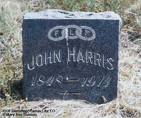 HARRIS, JOHN - Fremont County, Colorado | JOHN HARRIS - Colorado Gravestone Photos