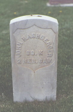 HASHBERGER, JOHN - Fremont County, Colorado | JOHN HASHBERGER - Colorado Gravestone Photos