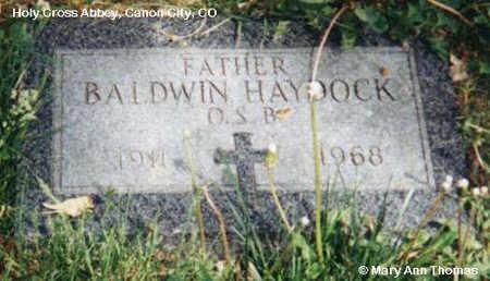 HAYDOCK, BALDWIN - Fremont County, Colorado | BALDWIN HAYDOCK - Colorado Gravestone Photos