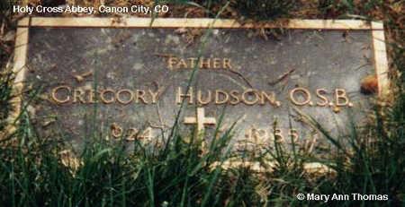 HUDSON, GREGORY - Fremont County, Colorado | GREGORY HUDSON - Colorado Gravestone Photos