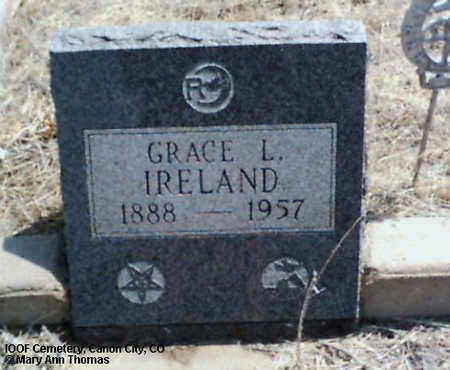 IRELAND, GRACE L. - Fremont County, Colorado | GRACE L. IRELAND - Colorado Gravestone Photos