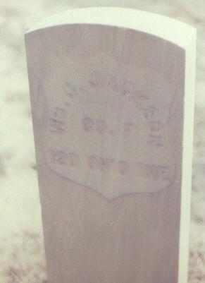 JACKSON, WM. J. - Fremont County, Colorado | WM. J. JACKSON - Colorado Gravestone Photos
