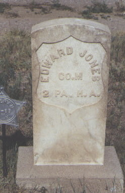 JONES, EDWARD - Fremont County, Colorado | EDWARD JONES - Colorado Gravestone Photos