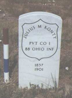 KONTY, JULIUS M. - Fremont County, Colorado | JULIUS M. KONTY - Colorado Gravestone Photos