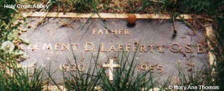LAFFERTY, CLEMENT D. - Fremont County, Colorado | CLEMENT D. LAFFERTY - Colorado Gravestone Photos