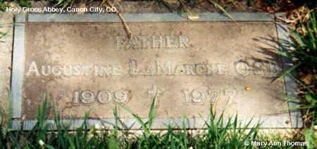 LAMARCHE, AUGUSTINE - Fremont County, Colorado   AUGUSTINE LAMARCHE - Colorado Gravestone Photos