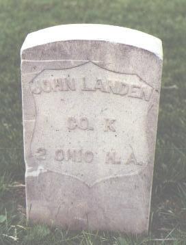 LANDEN, JOHN - Fremont County, Colorado   JOHN LANDEN - Colorado Gravestone Photos