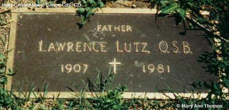 LUTZ, LAWRENCE - Fremont County, Colorado   LAWRENCE LUTZ - Colorado Gravestone Photos