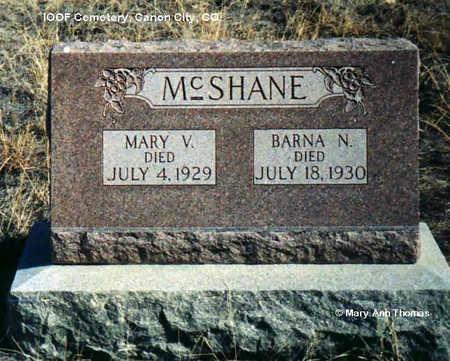 MC SHANE, BARNA N. - Fremont County, Colorado | BARNA N. MC SHANE - Colorado Gravestone Photos