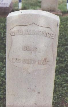 MONCE, GEO. M. - Fremont County, Colorado | GEO. M. MONCE - Colorado Gravestone Photos