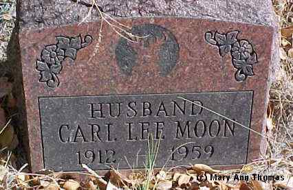 MOON, CARL LEE - Fremont County, Colorado | CARL LEE MOON - Colorado Gravestone Photos