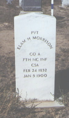 MORRISON, ELAM H. - Fremont County, Colorado | ELAM H. MORRISON - Colorado Gravestone Photos