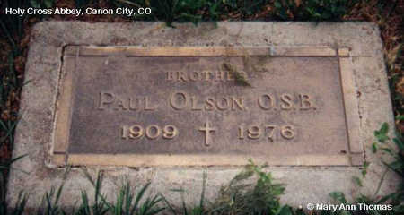OLSON, PAUL - Fremont County, Colorado | PAUL OLSON - Colorado Gravestone Photos