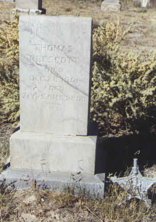 PRESCOTT, THOMAS - Fremont County, Colorado | THOMAS PRESCOTT - Colorado Gravestone Photos