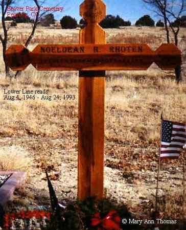 RHOTEN, NOELDEAN H. - Fremont County, Colorado | NOELDEAN H. RHOTEN - Colorado Gravestone Photos