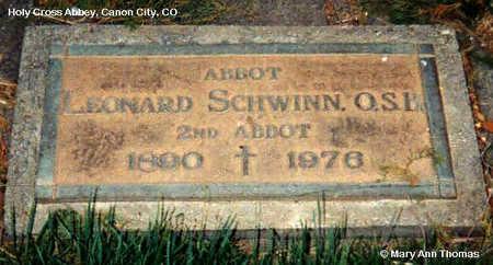 SCHWINN, LEONARD - Fremont County, Colorado | LEONARD SCHWINN - Colorado Gravestone Photos
