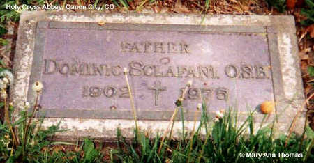 SCLAFANI, DOMINIC - Fremont County, Colorado | DOMINIC SCLAFANI - Colorado Gravestone Photos