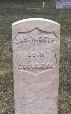 SEIP, JAS. N - Fremont County, Colorado | JAS. N SEIP - Colorado Gravestone Photos