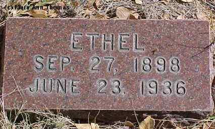 SHAEFFER, ETHEL - Fremont County, Colorado | ETHEL SHAEFFER - Colorado Gravestone Photos
