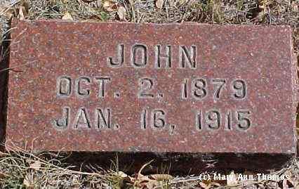 SHAEFFER, JOHN - Fremont County, Colorado | JOHN SHAEFFER - Colorado Gravestone Photos