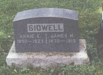 SIDWELL, JAMES M. - Fremont County, Colorado | JAMES M. SIDWELL - Colorado Gravestone Photos