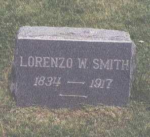 SMITH, LORENZO W. - Fremont County, Colorado   LORENZO W. SMITH - Colorado Gravestone Photos